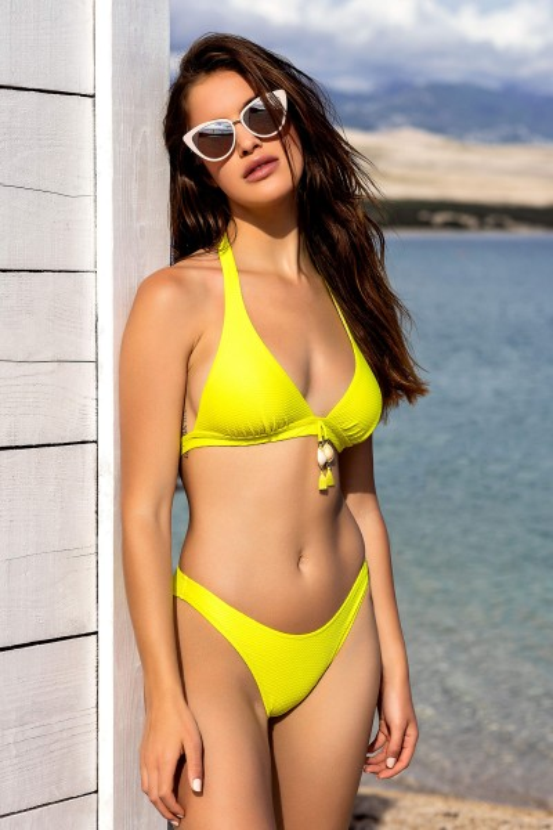Триаголен градник без жица »Ibiza« - костим за капење