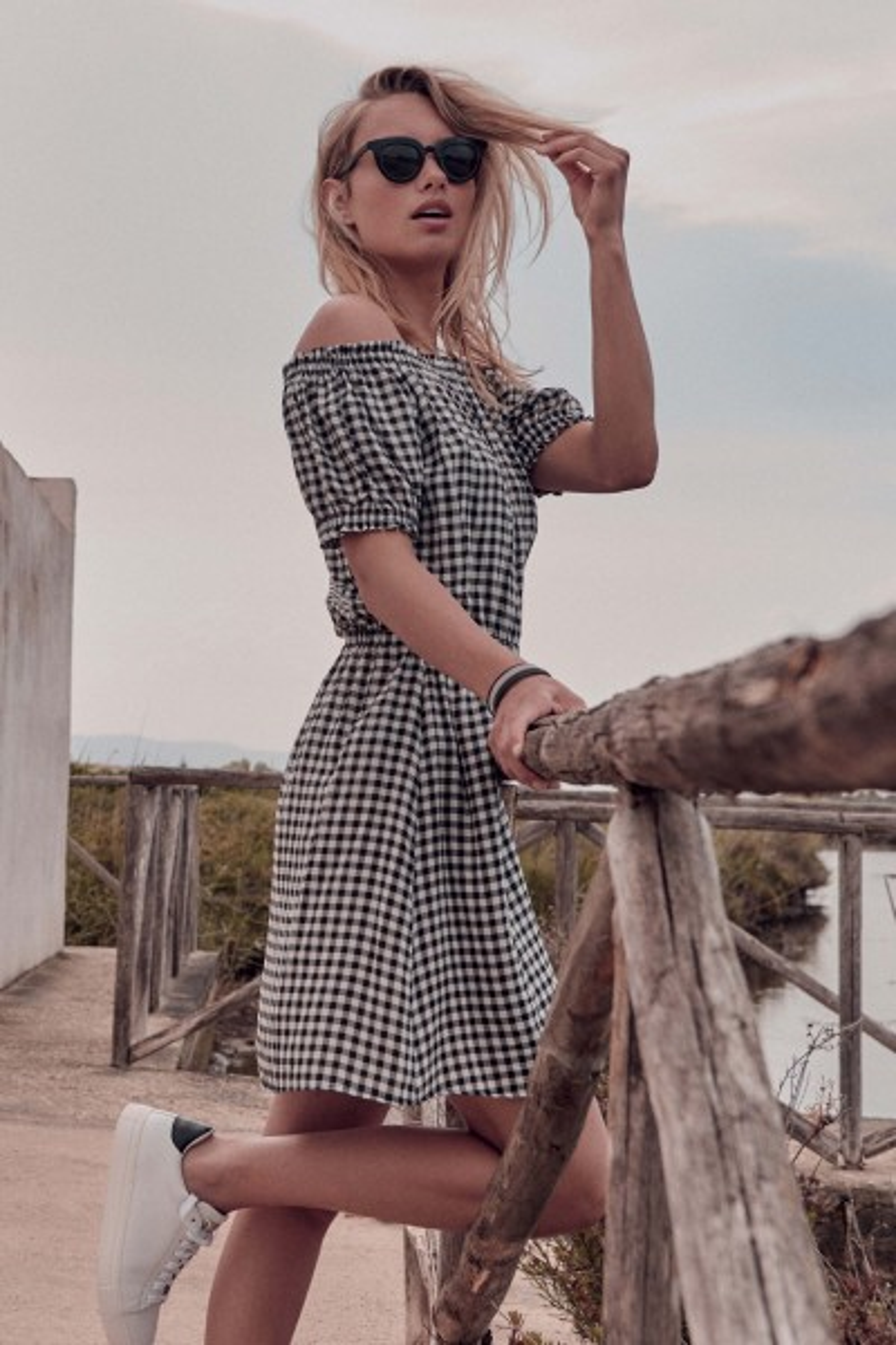Фустан »Retro Vichy«